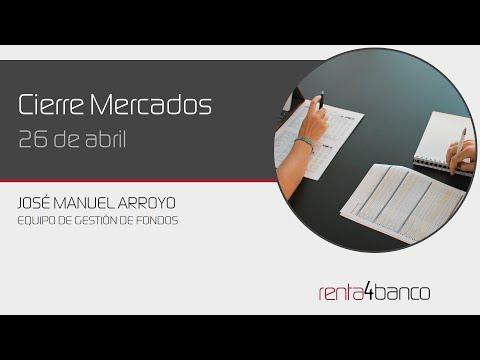Video Analisis: Cierre bolsa 26 de Abril por Renta4