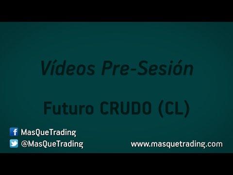 13-5-2016-Trading en español Análisis Pre-Sesión Futuro Crudo (CL)