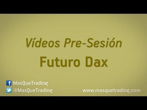 13-5-2016-Trading en español Análisis Pre-Sesión Futuro DAX (FDAX)
