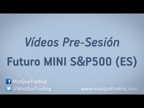 25-5-2016-Trading en español Análisis Pre-Sesión Futuro MINI SP500 (ES)