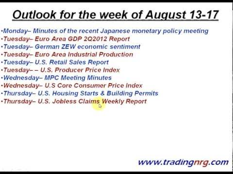 Gold & Silver Outlook for August 13-17 by Trading NRG