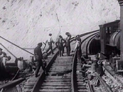 1914 NWP cab & caboose film