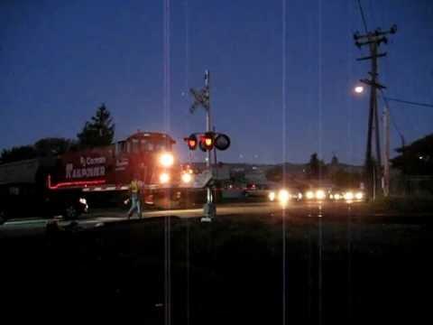 NWP RJCorman with Christmas lights 12-2-2011