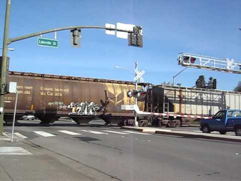 NWP RJCorman southbound in Petaluma 11 15 2011