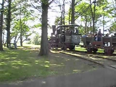 Bear Harbor #1 Under Steam at Fort Humboldt During Dolbeer Donkey Days 2012 (Part Two)