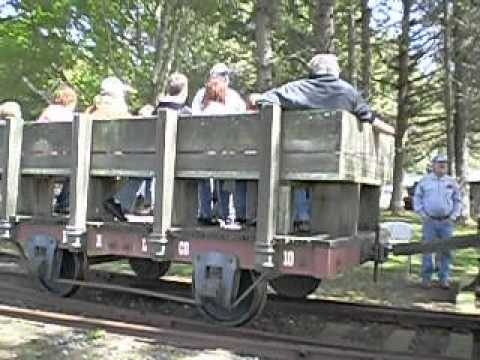 Bear Harbor #1 Under Steam at Fort Humboldt During Dolbeer Donkey Days 2012 (Part One)