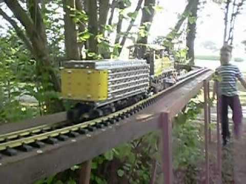 Erector Set Model Train at Dolbeer Donkey Days (Fort Humboldt State Historic Park)