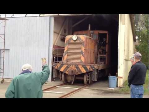 GE 44 Ton first move -Timber Heritage Association