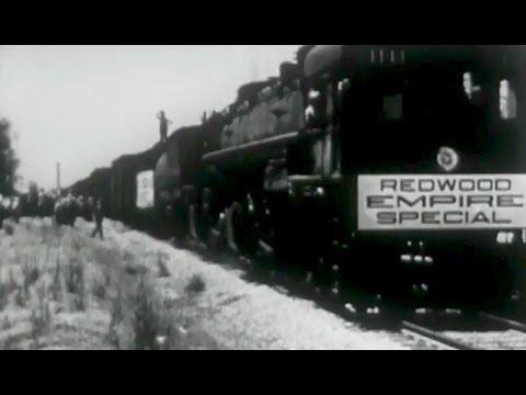 "Northwestern Pacific Railroad: ""Redwood Empire Special"" circa 1931 Prelinger Archives"