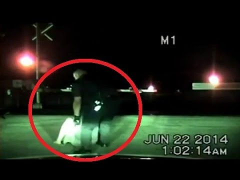 Richmond Cop Saves Woman From Train Tracks | Texas Police Officer Rescues Suicidal Woman
