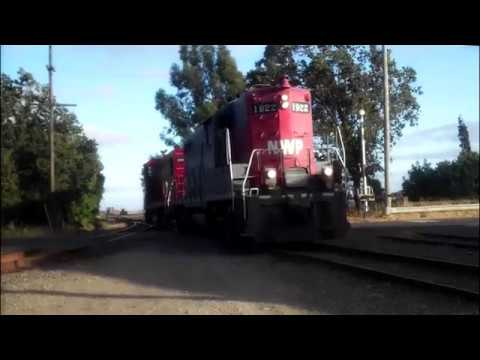 Northwestern Pacific Railroad Videos From 2011-2013