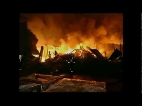 Brand van Gelder complex Apeldoorn 7-12-1996