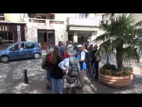 Wandeling L'Ancienne Draye Gréoux-les-Bain France