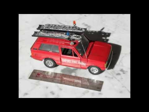 Mijn Brandweerauto's miniaturen verzameling