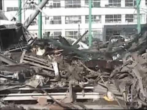 Um dia em meio a destruição do Tsunami no Japão.