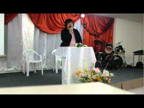 Missionária Geni Taniguti - Pregando em Mateus 7.mpg