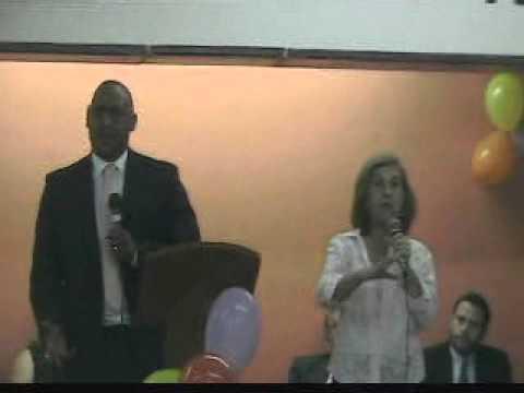 Visita do pastor Ray Mott