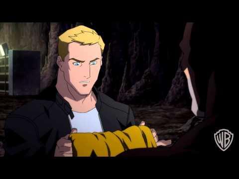 """Justice League: The Flashpoint Paradox"" clip: Flash and Batman"