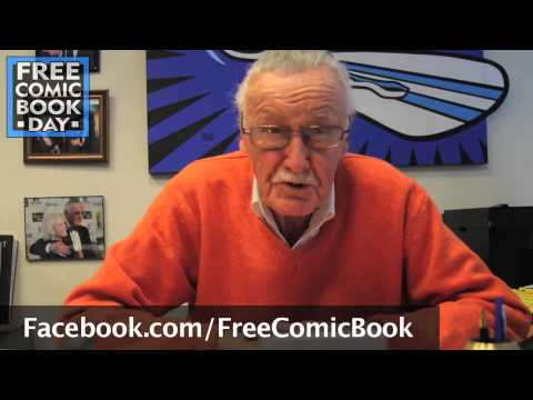 Stan Lee Promotes Free Comic Book Day!