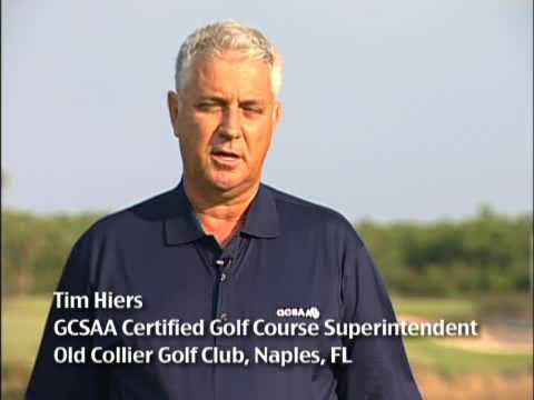 Greg Norman for the Environmental Institute for Golf (GCSAA)