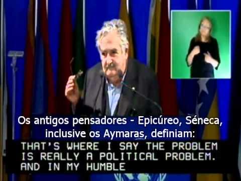 Discurso do Presidente do Uruguai, José Pepe Mujica na Rio+20 - Legendado PT-BR