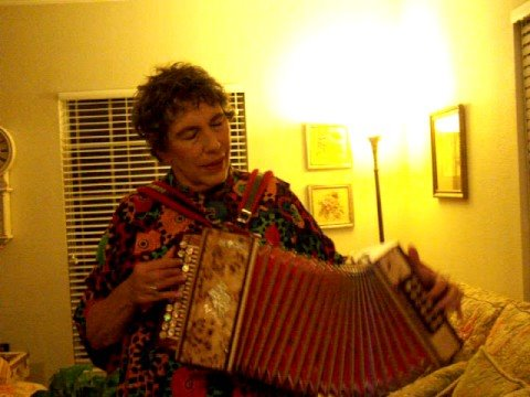 Thank you Peter (Stormy) Hyde for my new accordion!