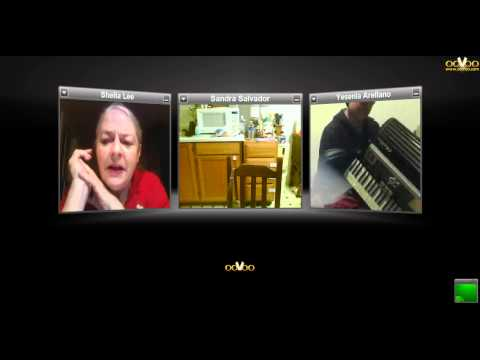 ooVoo used to teach how to play accordion