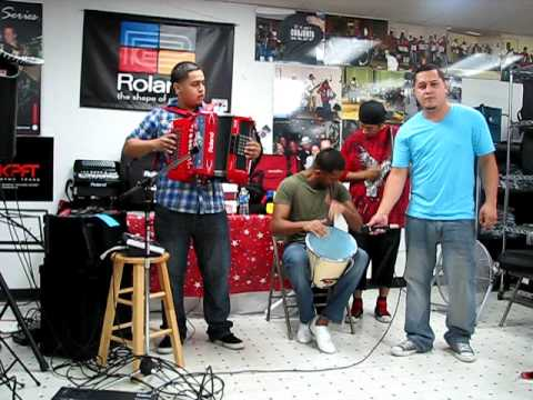 Danny Blanco Performs with his Band at Roland Workshop Aug 2 2011
