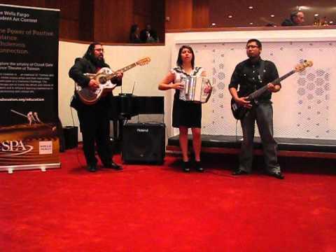 Yesey (Yesenia) Garcia Performing at Jones Hall in Houston 10-11-13
