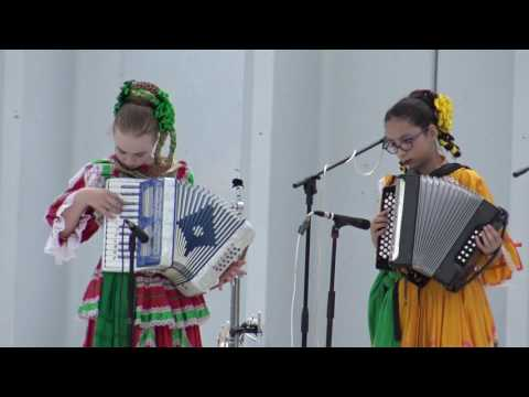 La cucaracha being being played as an accordion duet