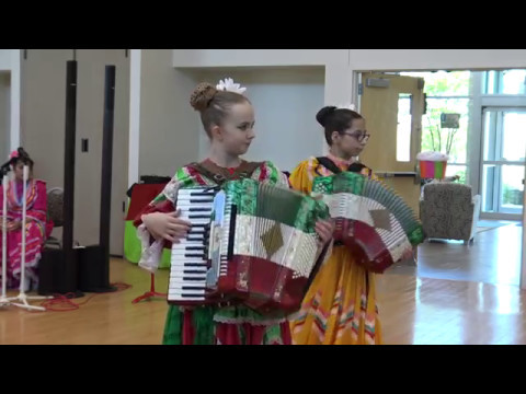 Chiapenecdas being played on a piano and a button accordion