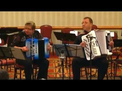 Musette Caprice. Stas Venglevski - Accordion Duo Elena & Gregory