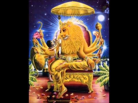 Prayers to Lord Narasimha by Saturn Personified