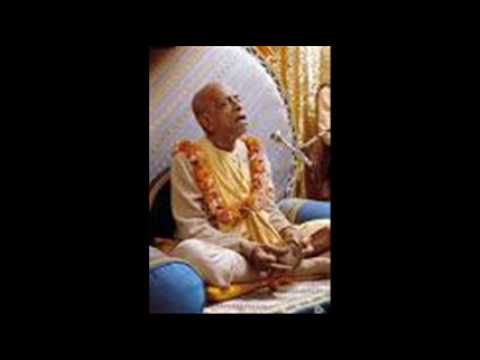 Hare Krishna Mahamantra_1 sung by Srila Prabhupada