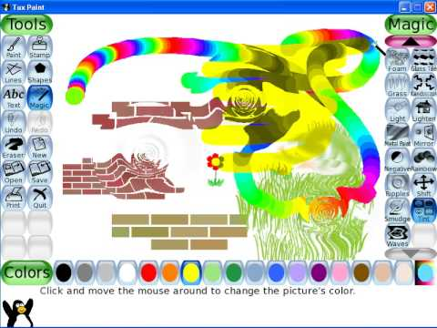 Tux Paint Tutorial - Free Software for Children