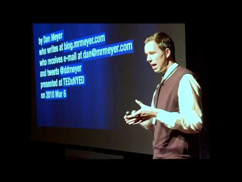 TEDxNYED Mission Impossible:  Teaching High School Math
