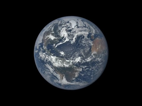 DSCOVR - one year of EPIC images