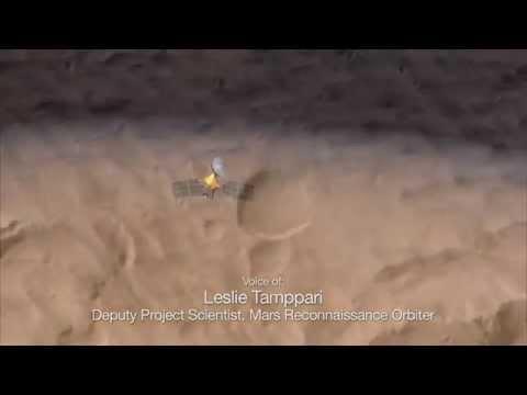 Mars Weathercam Helps Find Big, New Crater