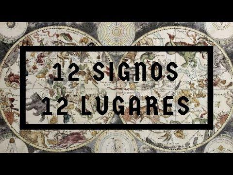 12 signos 12 lugares