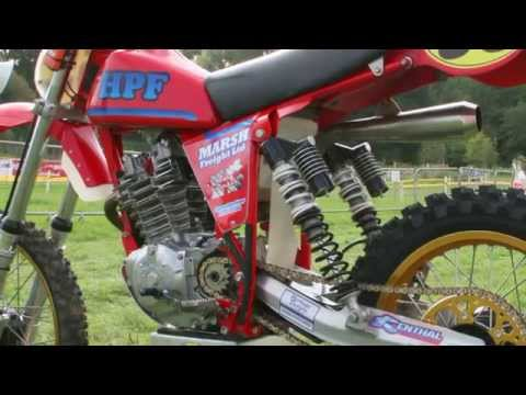 Some Classic Twinshock Dirt Bikes