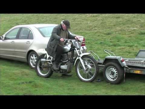 """In the Paddock"" Scottish Classic Motocross Forfar 2014"