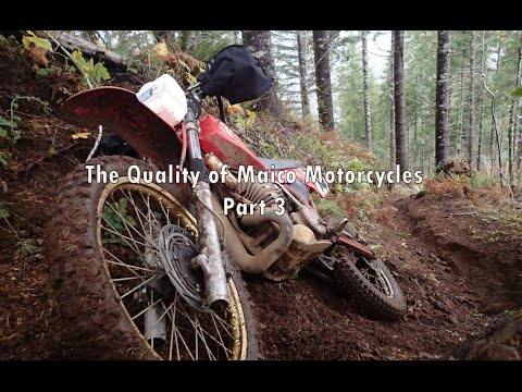 The Quality of Maico Motorcycles Part 3 of 5 (Documentary)