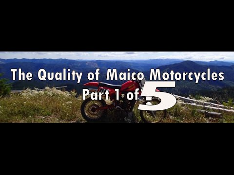 The Quality of Maico Motorcycles Part 1 of 5 (Documentary)