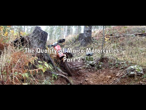 The Quality of Maico Motorcycles Part 2 of 5 (Documentary)
