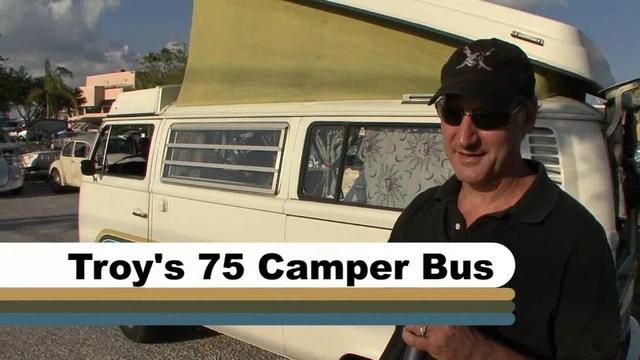 Troy's 75 Camper Bus