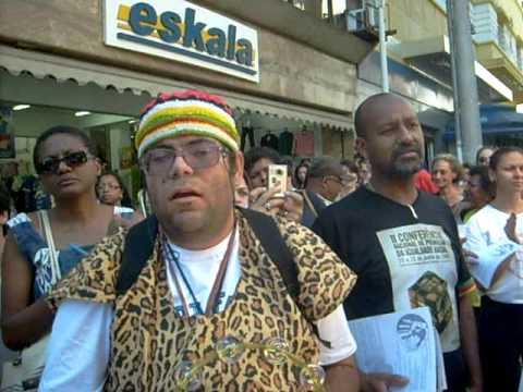 Ato contra o racismo na Loja Marisa de Campinas-SP