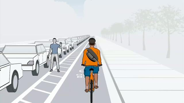 Safe Bicycling Facilities the Portland Way