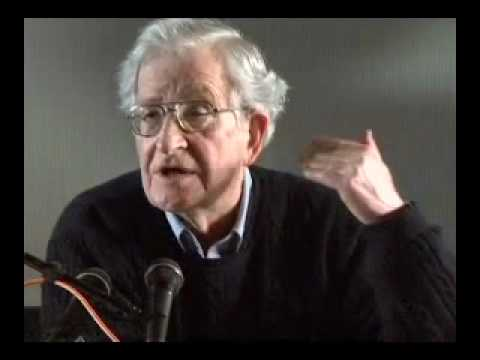 Noam Chomsky and Bill McKibben on Global Warming
