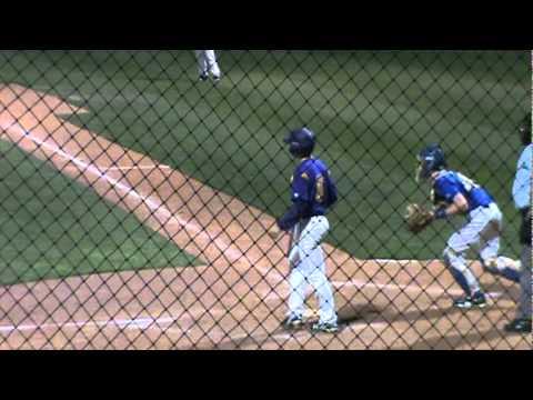 Austin Caffey - 2011 Baseball Season Highlights (Part 1)