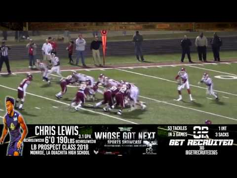 Chris Lewis OLB Prospect Ouachita High School Summer Recruiting Update
